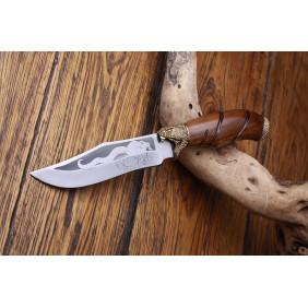 Ножи с бронзовым литьем